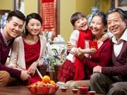 Reuniones familiares en ocasión del Tet despiertan conciencia de los orígenes
