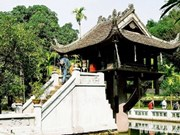Pagodas, rasgos antiguos de Hanoi milenario