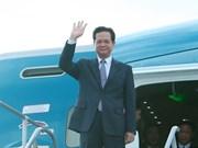 Llega premier vietnamita a Estados Unidos para la Cumbre ASEAN-EE.UU.