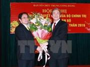 Designado nuevo jefe de órgano sustancial de Comité Central de PCV