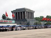 Más de 63 mil personas llegan a Mausoleo de Ho Chi Minh
