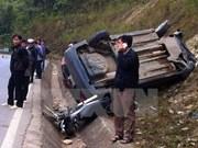 Nueve días festivos, 300 muertos por accidentes de tráfico