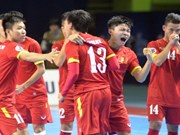 Vietnam gana por primera vez boleto a Copa Mundial de futsal