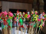 To He, muestra de la creatividad de niños vietnamitas con discapacidades