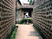 Preservación y promoción de la aldea antigua de Duong Lam