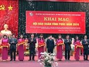 Efectúan Festival Primaveral de la Prensa en distintas provincias vietnamitas