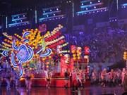 Festival callejero Chingay ilumina Singapur