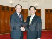 Premier vietnamita recibe en Hanoi a presidente de BM