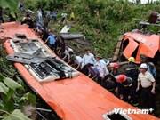 Cuatro turistas extranjeros mueren en accidente de tránsito en Laos