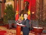 Partidos y amigos de otros países felicitan al reelecto líder partidista de Vietnam