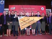 Concluyen séptima etapa de Clipper Race con entrega de galardones en Da Nang
