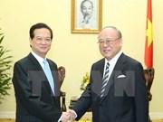 Premier vietnamita pide mayor cooperación con Japón en educación