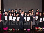 Primeros estudiantes vietnamitas en Israel cumplen curso en agricultura