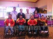 Dos pesistas de Vietnam clasificaron para paralímpico de Rio 2016