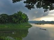 Estudia Tailandia cambio corriente de afluente del Río Mekong