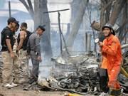 Explosión de coche bomba deja nueve heridos en el sur de Tailandia