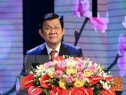 Presidente vietnamita insta al sector de salud continuar renovación integral