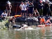 Hallan cuerpo de turista bielorruso desaparecido en cascada Pongour