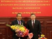Intensifican cooperación Vietnam-Rusia en justicia