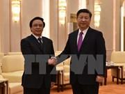 Presidente chino recibe a enviado especial de secretario general de PCV