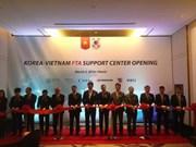 Inauguran Centro de Asistencia de TLC Sudcorea- Vietnam