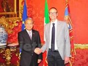 Regiones italianas priorizan cooperación con localidades de Vietnam