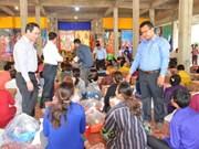 Entregan donativos a hogares vietnamitas y cambodianos afectados por incendio