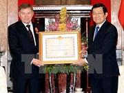 Otorga Vietnam Orden de Amistad a alto funcionario ruso