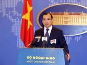Vietnam decidido a defender pacíficamente su soberanía e intereses en Mar del Este