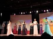 Honran belleza de estudiantes féminas vietnamitas en Francia