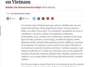 Prensa argentina destaca las heroínas hermanas vietnamitas Trung