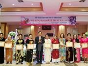 Vietnamitas en Laos conmemoran Día Internacional de la Mujer