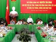 Exige premier asegurar agua para producción y vida de población en delta de Mekong