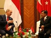 Indonesia y Turquía intensifican cooperación contra el terrorismo