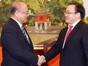 Dirigente partidista propone ayuda de Japón en proyecto ferrocarril en Hanoi