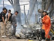 Dos muertos por explosión de bomba en Tailandia