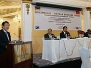Presidente vietnamita asiste a Foro Empresarial en Mozambique