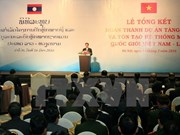 Vietnam y Laos robustecen relaciones de cooperación