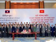 Proyecto de densificación de hitos fronterizos: muestra de amistad Vietnam- Laos