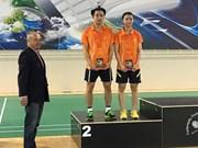 Obtiene Vietnam dos medallas en Abierto de bádminton en Portugal