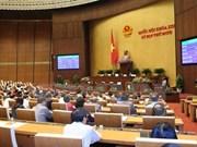Onceno período de sesiones parlamentarias escruta cargos clave