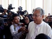 Líderes vietnamitas congratulan al nuevo presidente birmano