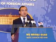 Acciones chinas en Hoang Sa infringen soberanía de Vietnam, dijo vocero de Canciller