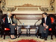 Directora del FMI elogia logros de Vietnam en desarrollo sostenible