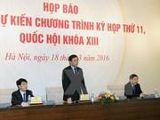 Centrará XI período de sesiones de Parlamento en asuntos del personal estatal