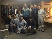 Empleados vietnamitas en Japón satisfechos con condiciones de vida y trabajo