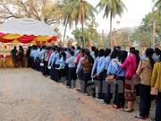 Cuatro millones de votantes acuden a urnas en las elecciones parlamentarias de Laos