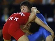 Luchadora vietnamita obtiene boleto olímpico