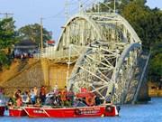 Inician procedimiento legal sobre derrumbo de puente ferroviario por una gabarra