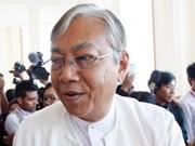 Parlamento de Myanmar aprueba plan del nuevo gobierno